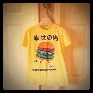 Unisex burger tee